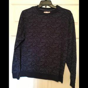 Penguin crewneck sweatshirt triangle design - L